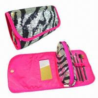 Quality Cosmetic Bags, Brush Set and Bag, Ideal for Traveling and Makeup Purposes for sale