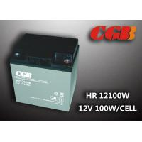 Quality 12V 28ah High Rate Rechargeable Vrla Battery , Agm Separator Sealed Deep Cycle Battery for sale