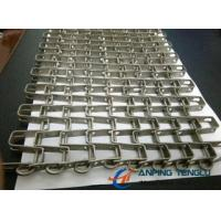 Quality Stainless Steel Horseshoe Mesh Conveyor Belt, for Heavy Goods Conveyor for sale