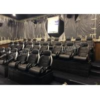 Quality Genuine Leather Electric Mobile 5D Cinema Equipment For Business Center for sale