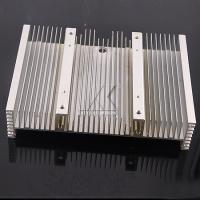 Quality Alloy Large Aluminum Profiles Silver Punching Large CNC Heatsink For Production Machine for sale