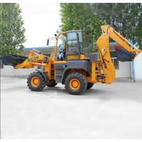 China Multi Function Towable Tractor Loader Backhoe With 4 In 1 Bucket on sale