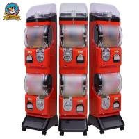 China Spiral Shopping Mall Gumball Vending Machine Coin And Token Operated on sale