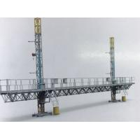 STC100 Mast Climbing Work Platform Twin Tower 2400kg Load Capacity Steel With Dipping Zin