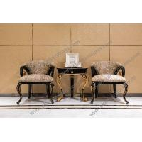China Upholstered Fabric Living Room Chairs For Sale  TS-023 on sale