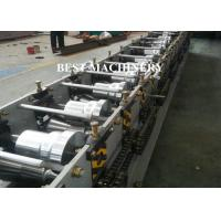 Buy Down Spout Roll Forming Machine Metal Roof Rain Drain Water Gutters at wholesale prices