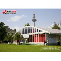 Clearspan Fabric Structures Transparent Tents For Weddings With Glass Pannel Sidwall for sale