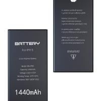 Quality Li - Ion Iphone 5 Internal Battery 1440mAh Zero Cycle Certification CE ROHS FCC for sale