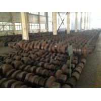 Buy OEM Crankshaft Forgings Forged Alloy Steel Industrial Shaft 42CrMo, 34CrNiMo6, at wholesale prices