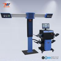 Quality 4 Precision Cameras 3D Wheel Aligner , 3D Car Wheel Alignment And Balancing Machine for sale