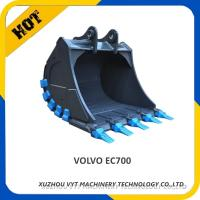 Quality excavator bucket digging bucket for excavator  volvo ec700 with hot sales for sale