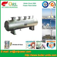 Quality Single Drum Type Boiler High Corrosion LPG Steam Boiler Unit , Mud Drum for sale