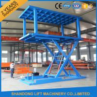 Quality 5T 3M Double Deck Car Parking System High Pressure Oil Pump 1.5m - 12m Lift Height for sale