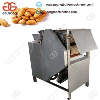China Manufacturer of high peeling rate Stainless steel blanched Wet Almond Peeling Machine for Sale on sale
