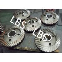 Quality High Pressure Double Helical Gear Electric Water Pump Gearbox Parts Big Spiral Bevel Steel Material for sale