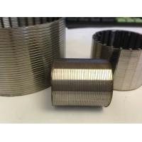 China Johnson wedge wire strainer screen pipe filter for water treatment in well drilling on sale