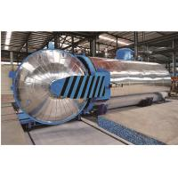 Quality Rubber Vulcanizing Chemical Autoclave with safety interlock for sale