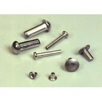 Buy Precision Hardware Parts Zinc / Chrome / Nickle Plating Rivets, Stainless Steel at wholesale prices