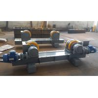 Lead Screw Adjustment 20T Pipe Welding Rotator with Rubber Material Rollers