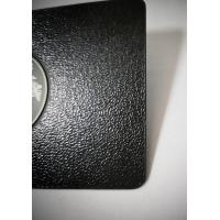Buy Luxury Metal Stainless Steel Leather Pattern Member Cards Laser Engrave Etch at wholesale prices