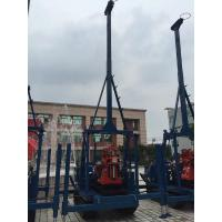 China Multi Purpose Core Drill Rig , Drilling Rig Tools Crawler Mounted  Powerful Diesel Engine on sale
