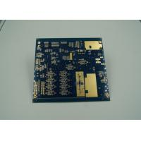 Quality Blue Thick Gold Multilayer PCB Board UL 94 V 0 Flamibility Grade Tg 170 for sale