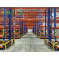 Quality Q235 Warehouse Racking System , Commercial Warehouse Storage Shelving Systems for sale