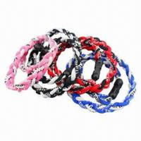 Quality Braided Bracelet, Handmade, Customized Designs, Sizes and Colors are Welcome for sale
