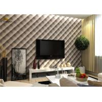 Quality Interior Noise Reduction Wall Panels 600mm x 600mm With PU Leather Finish for sale