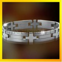 Quality hot selling stainless steel or titanium bracelet for men for sale