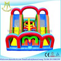 Quality Hansel Inflatable Sport Games , Inflatable obstacle Course for Adult for sale