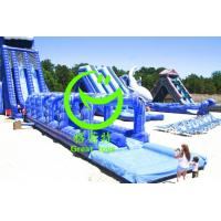 Quality 2016 Hot sell airtech inflatable water slip n slide with 24months warranty from GREAT TOYS for sale