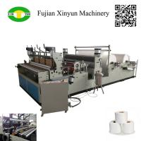 Quality Full automatic punching small toilet roll paper making machine for sale