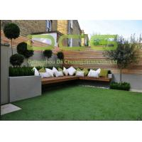 Quality Long Useful Life Artificial Grass Garden Beautiful Color Abrasion Resistant for sale
