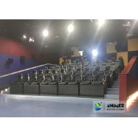Buy Exciting 5D Cinema Equipment , 5D Luxury Motion Seats With Vibration Effect In at wholesale prices
