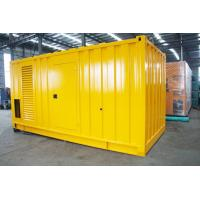 Quality Soundproof Silent Diesel Generator Set 2500kva 400 / 230V AC Three Phase Output for sale