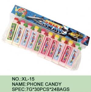 Quality Watermelon Phone Sugar Powder Candy Lowest Calorie 7 G * 30 Pcs * 24 Bags for sale