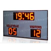 Quality High Brightness LED Football Scoreboard For Outside CE / RoHS Approved for sale