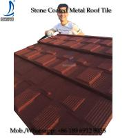 Quality Flat Style Roof Tile Roof, Step Tile Roofing Sheet, Stone Chip Coated Terracotta Roof Tile for sale