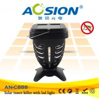Quality Advanced Solar Powered Mosquito Killer With UV Lamp for sale