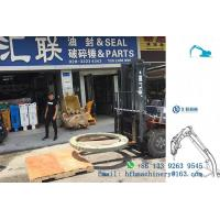 China Heavy Equipment Parts Excavator Swing Circle Slewing Bearing Iron  Material on sale