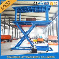 Quality 6T 3M Double Deck Car Parking System Hydraulic Mobile Electric Garage Car Lift with CE for sale