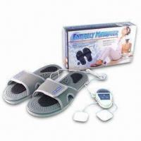 Quality Massage Slippers with One CR2032 Battery and Two Electrode Pads for sale
