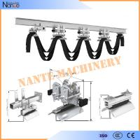 Cable Ball bearing H / I Beam Trolley Festoon System With Neoprene Bumper 300m/min for sale