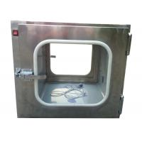 Quality Custom Stainless Steel 201 Static Cleanroom Pass Box For Biological Engineering for sale