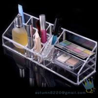 Quality transparent cosmetic organizer for sale