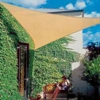 Quality Triangle sunshade, solid color, 180g/m for sale