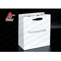 Quality Single LOGO Custom Printed Paper Bags For Shopping Mall / Supermarket for sale