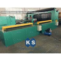 Quality 5kw Automatic Wrapped Edge Gabion Machine Edge Wrapping Machine 4 Meter for sale