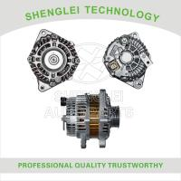 Quality Honda Civic 1.4 Vehicle Alternator Center Muffler Type with Fixed Pulley for sale